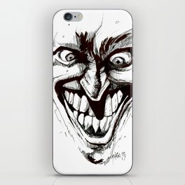 """Turn that Smile Upsidedown"" iPhone Skin"