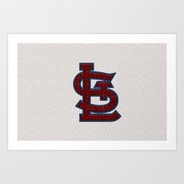 St. Louis Cardinal's Logo Art Print
