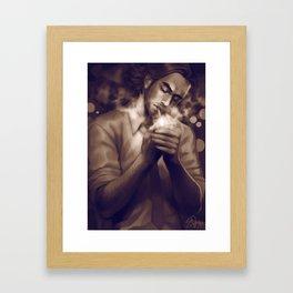 Bigby Wolf Framed Art Print
