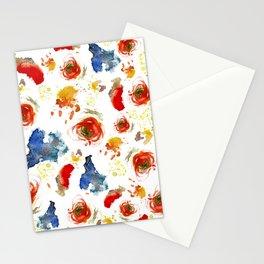 Poppy Paint Stationery Cards