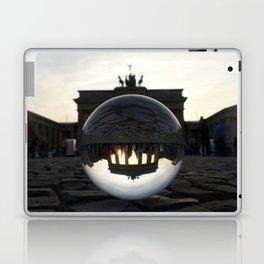 Brandenburg Gate, Berlin Germany / Glass Ball Photography Laptop & iPad Skin