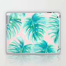Paradise Palms Blush Laptop & iPad Skin