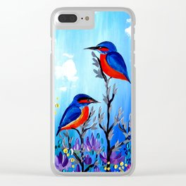 I Love Being With You Clear iPhone Case