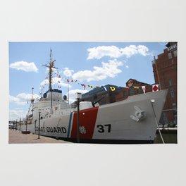 Coast Guard 37 Baltimore Harbor Rug