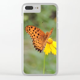 Ms. Indian Fritillary at West Lake Clear iPhone Case
