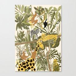 Th Jungle Life Canvas Print
