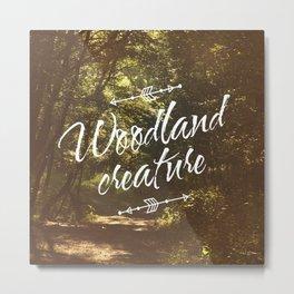 Woodland creature Metal Print