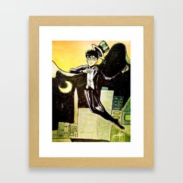 Finally.... Meet Tuxedo Mask! Framed Art Print