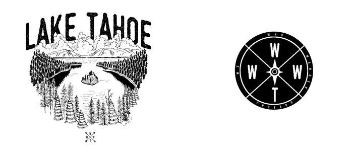 Lake Tahoe - We Who Wander Threads Coffee Mug