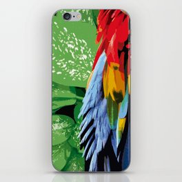 Brasil Tropical iPhone Skin