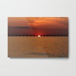 Chesapeake Bay Sunset Metal Print