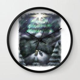 Christmas Wish 2015 Wall Clock