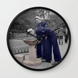 Sailors 1 Wall Clock