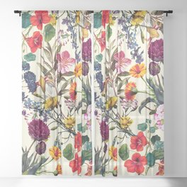 Magical Garden V Sheer Curtain