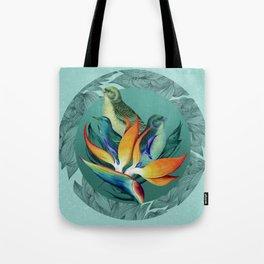 PARADISE BIRDS Tote Bag