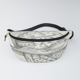 Roman helmet. Zentangle stylized. Vector illustration. Pattern. Fanny Pack