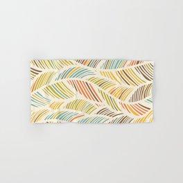 Fine Feather Pattern Hand & Bath Towel