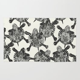 turtle party Rug