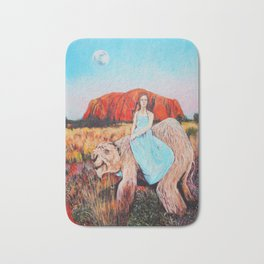 East of the Sun West of the Moon Bath Mat