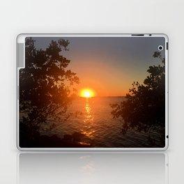 Sunset from the Florida Bank Laptop & iPad Skin