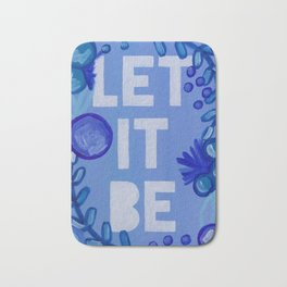 Let it Be Bath Mat