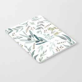 Eucalyptus pattern Notebook