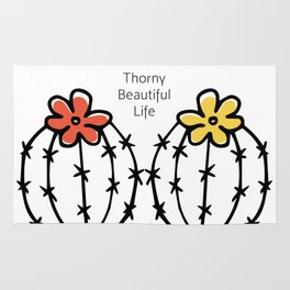 Thorny Beautiful Life Rug