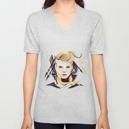 Queen Lagertha Unisex V-Neck