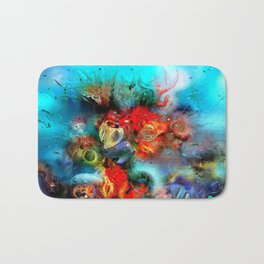 Coral Reef Red 444 Bath Mat