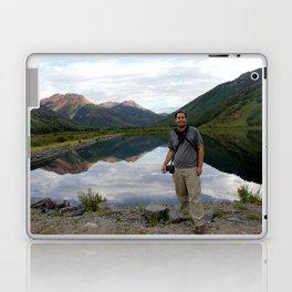 Photographer on Crystal Lake Laptop & iPad Skin