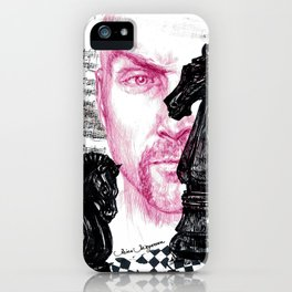 """""""of knights..."""" iPhone Case"""