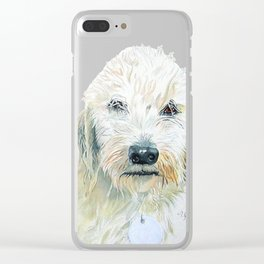 Two Labradoodles Clear iPhone Case