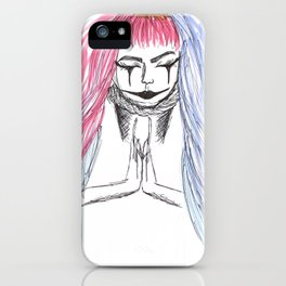 ॐ BE THE FREE ॐ iPhone Case