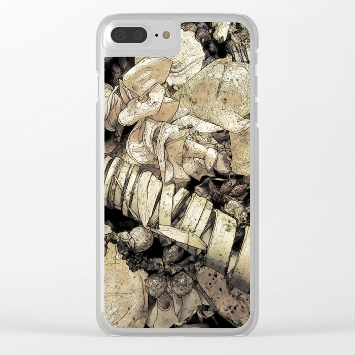 Pot Pouri Clear iPhone Case