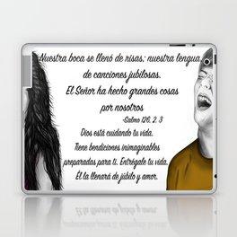 Risas - Salmo 126, 2. 3 Laptop & iPad Skin