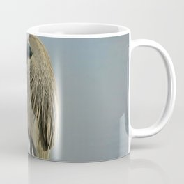 Heron Having a Bath II Coffee Mug