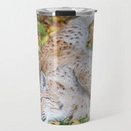 Playful Lynx Travel Mug
