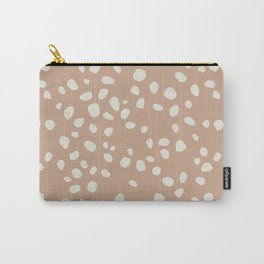 PEACH PEBBLES Carry-All Pouch