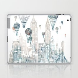 Voyages Over New York ~Refresh Laptop & iPad Skin