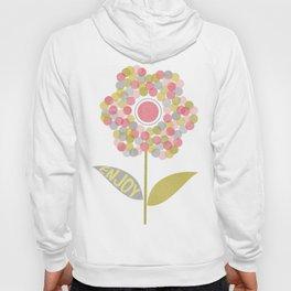 Dot Flower Hoody