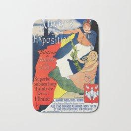 Antwerp art expo 1895 Bath Mat