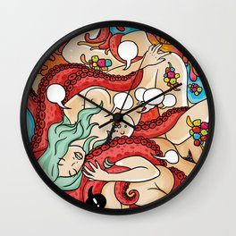 Dream of the fisherman's wife Wall Clock