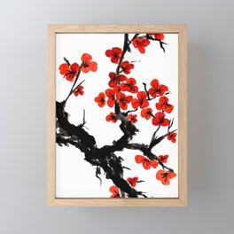 Orange Blossoms Framed Mini Art Print