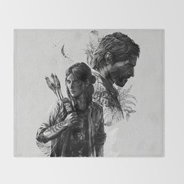 The Last of Us Part II Throw Blanket