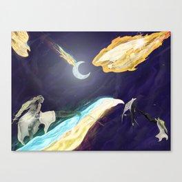 Xelight as Xerailance Canvas Print