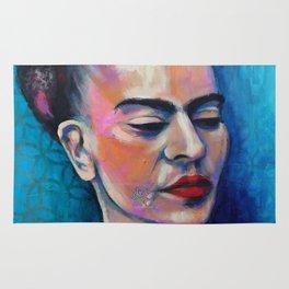 Je te ciel, hommage à Frida Kalos Rug