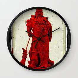General's Red Rage Wall Clock