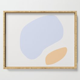 Abstract Shape Series - Peach Serving Tray