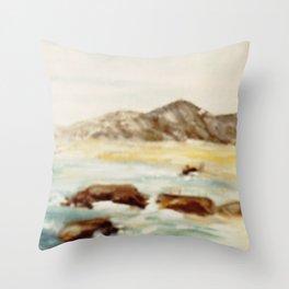 Coastal Scene, AUSTRALIA Throw Pillow