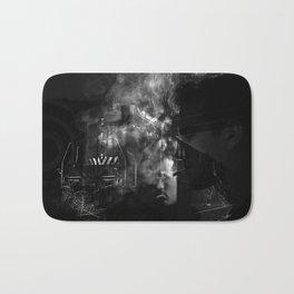 Smokers and train Bath Mat